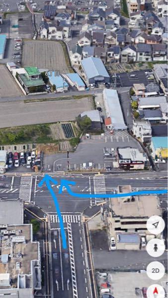 交通ルールについてです。 下の写真の矢印のように進むことは可能なのでしょうか。