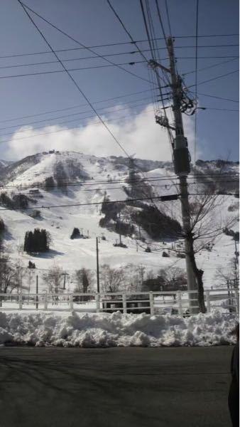 ここのスキー場どこか教えてください 多分新潟か長野です