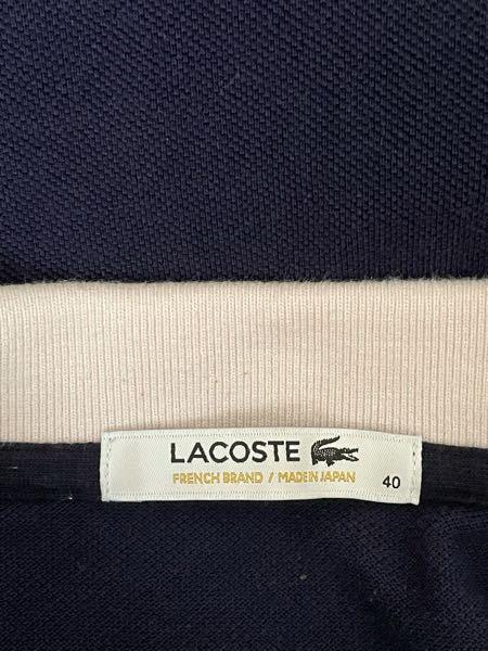 古着屋で買ったラコステです 偽物ではないですよね?