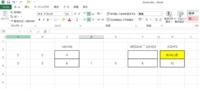 Excelの数式について教えてください。 知識がなくわかる数式だけを使っているため対処方法が分かりません。 枠線の所に数式が入っています。 入っている数式は枠線上の所に書いてある数式です。 Fの列にIF関数を使っていて、Dに数字が入った時に計算されるようにしています。 CとFの合計をHに表示させたいのですが、Fのところに数字が入っていないと 黄色くしたところにようにエラーの表示が出ます。  ...