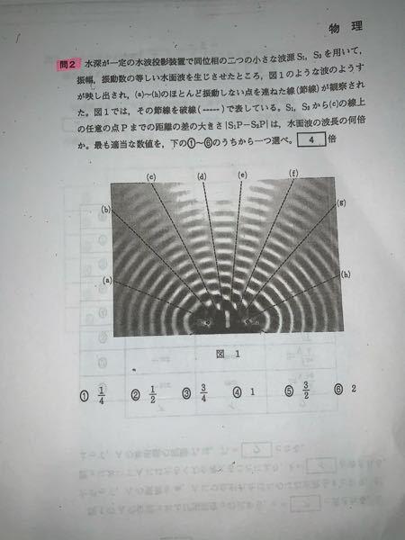 物理の波について教えていただきたいです。 この問題の答えは5になるみたいなのですが、解説を読んでもよく分かりません。 なぜ5になるの教えていただきたいです。