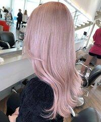 イエベ春にこの髪色似合いますかね