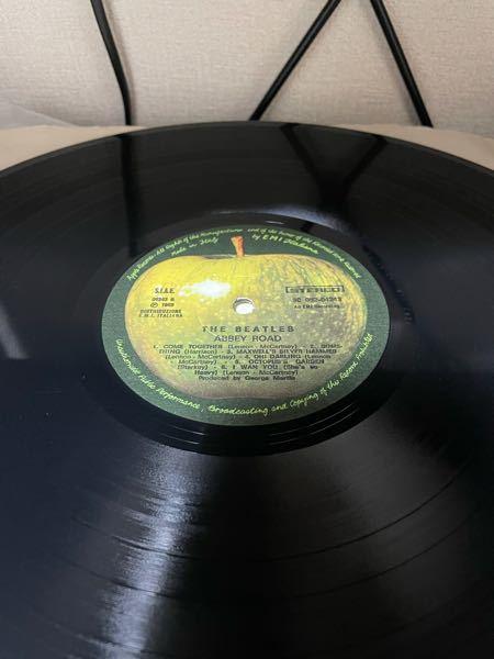 このアビー・ロードのレコードは50周年記念版ですか?それとも当時のものでしょうか? 詳しく解説していただくとありがたいです。