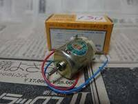 DCモーターとLED この2つをつないでモーターを時計回りにまわしたら点灯します でもなぜ反時計回りは点灯しないの❓