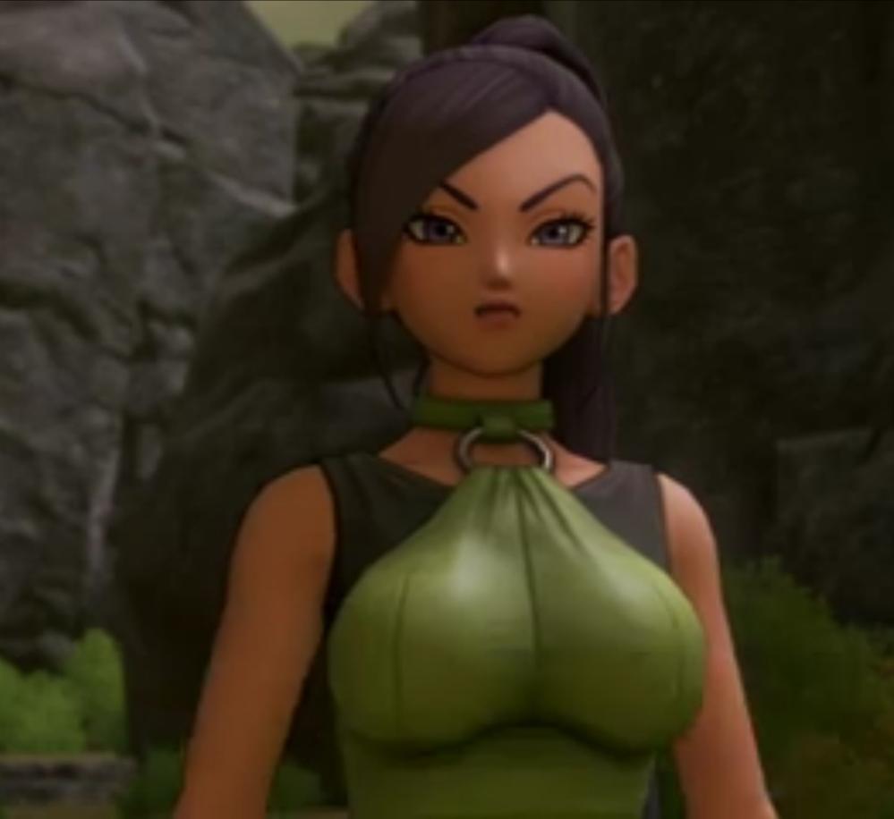 えろアニメみたいに無意味に胸が強調されてるのが好きじゃないんですが。 胸の大きさ不自然じゃないですか?