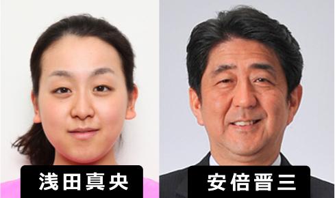 「浅田真央・安倍晋三」で、ググると「親子」と出てくるけど違うよね? 確かに激似だけど・・・