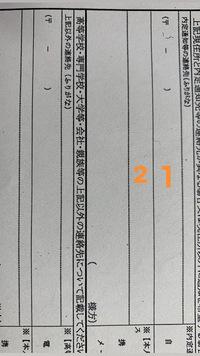 住所を記入する時に、郵便番号の後に続けて記入すると思うのですがこの場合、1.2どちらから記入するのが一般的ですか?