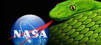NASAのロゴは蛇の舌です つまり、前もって  「騙すよ」  と教えてくれてる訳です  聖書ではヘビは  人間を誘惑し、騙す能力を持ち、神に反抗する存在  です。  宇宙だの、地球が丸いだの全部嘘てことを教えてくれてる訳ですよね?