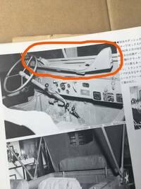 自衛隊車両に詳しい方教えてください 画像のオレンジの丸で囲ってある部分はライフルを置く場所なのですか?