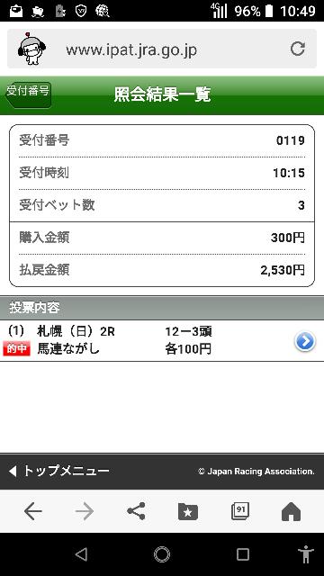 東京10レース 9―1.2.10.11 なにかいますか?