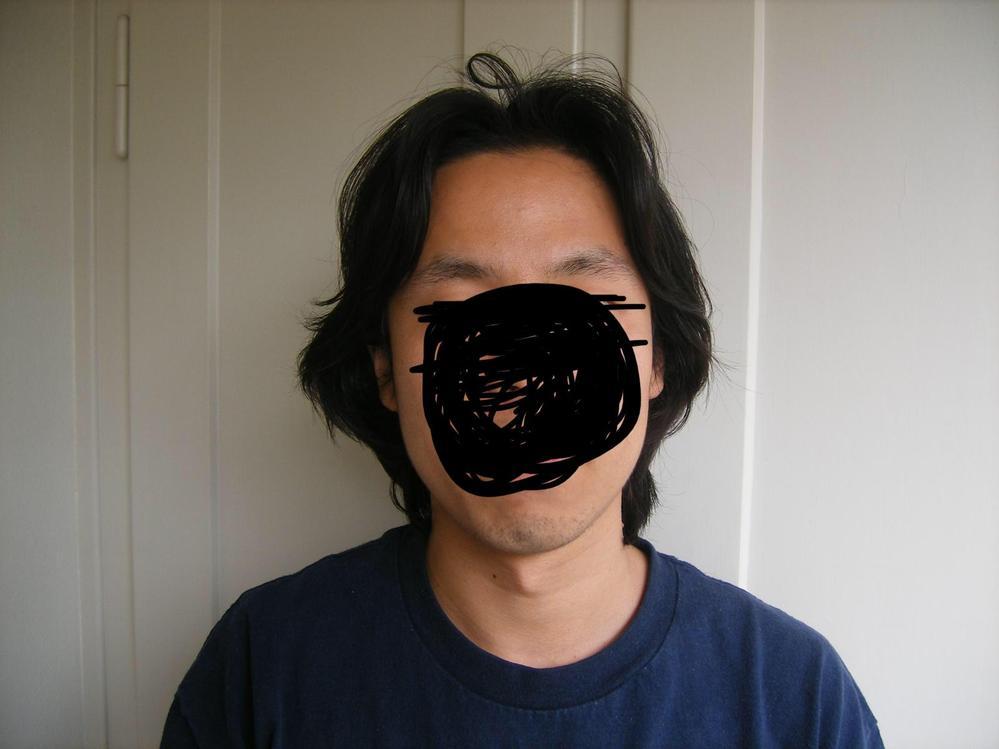 男でこれはロン毛ですか?