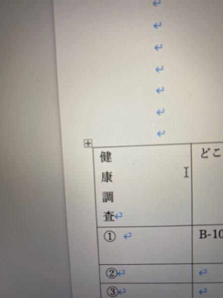 MacのWordで表の文字を詰めるとこのように縦になってしまいます。 どのような方法を行えば、文字のギリギリまで表を詰める事が出来でしょうか。 得意な人がいたら教えて下さい。