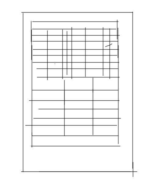 PCでWordを使ってこういう↓表の作り方を教えてください!