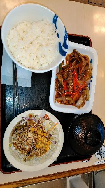 松屋の青椒肉絲定食は美味しいですか?