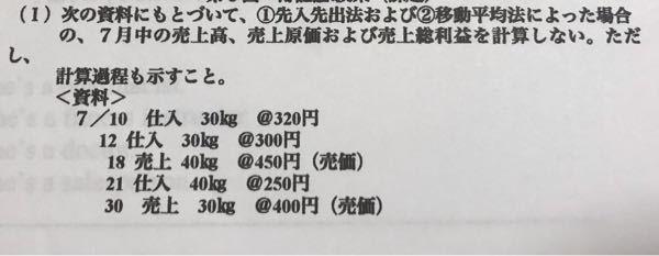 簿記の質問です。 @〇〇円っていう意味とこの問題の答えの書き方がわかりません。どういうことなんでしょうか。