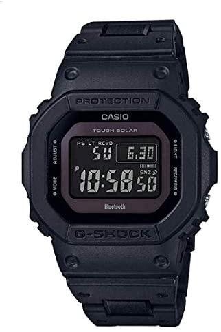 G-SHOCKの様な頑丈な時計で以下の3つの条件の物を探しています。 ①ワールドタイム(時差等)対応 ②電波受信(電波を受信して正しい時刻をセット) ③電池式 ソーラー式ではない ➃ミニマルでゴテゴテしていないデザイン。GW-B5600BC-1BJFなど を満たす条件の腕時計を教えて下さい。勿論G-SHOCKでも構いません。 条件➃は最悪無視しても構いません。 因みにソーラー式が嫌いな理由は、室内で仕事をしている事もあり、日光に当たる事がほぼ無い事と、充電がめんどくさいからです。 デザインとしては、GW-B5600BC-1BJFの様なミニマルなデザインが好きです。