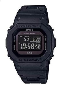 G-SHOCKの様な頑丈な時計で以下の3つの条件の物を探しています。 ①ワールドタイム(時差等)対応 ②電波受信(電波を受信して正しい時刻をセット) ③電池式 ソーラー式ではない ➃ミニマルでゴテゴテしていないデザイン。GW-B5600BC-1BJFなど  を満たす条件の腕時計を教えて下さい。勿論G-SHOCKでも構いません。  条件➃は最悪無視しても構いません。  因みにソーラー式が嫌いな...