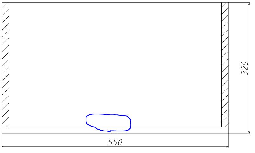 実験のためにアクリル水槽(幅550高さ320奥行200)を自作することになったのですが仮組みをしてみると550×320の板の接着面の真ん中部分が浮いてしま っていて接着が難しい状態になっています. これを面にぴったりにしたいのですがどうすればいいでしょうか 画像の青〇部分が浮いているような感じです.この部分に使う板はカットせず既製品のまま使用しています.