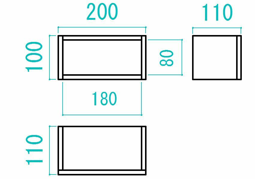 このページにある木箱の設計図の110と書いてある図はどこから見たらこの形に見えますか? https://kurashi-no.jp/I0023607?p=2 右側に縦に直線が一本入っているのは、どこの板ですか? 広告が多いページでイライラしますが、すみません。