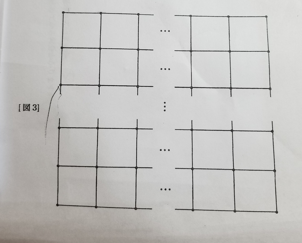 算数の問題をお願いいたします。 同じ長さのねんど玉(・)で正方形をつないだ形を作っていきます。図3のように形を作っていくと、図形全体も正方形になり、棒を840本使いました。ねんど玉を何個使いましたか。 四年生にわかるように、解説お願いいたします。