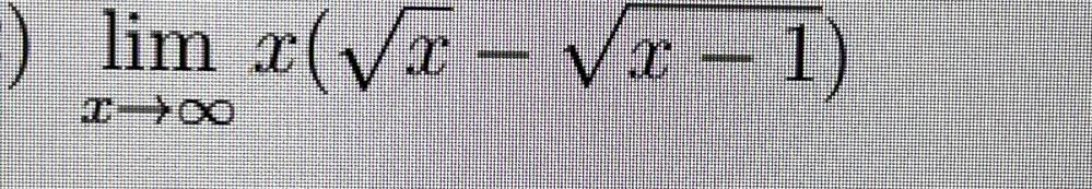 この計算答えは無限大と書いてあるのですが、いくら計算しても0になります。