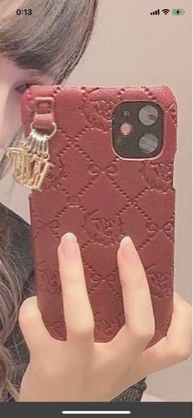 このiPhoneケースどこのブランドのかわかる方いませんか??
