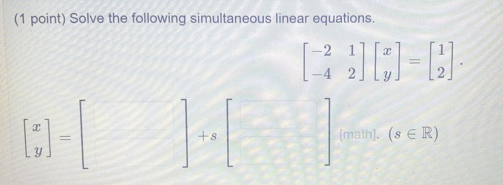 線形代数なんですが、解ける方はいらっしゃいますか?