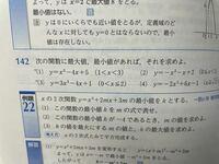 数学1 (1)の問題は、定義域が限られているのに最大値がありません。 何故ですか? 回答よろしくお願いします