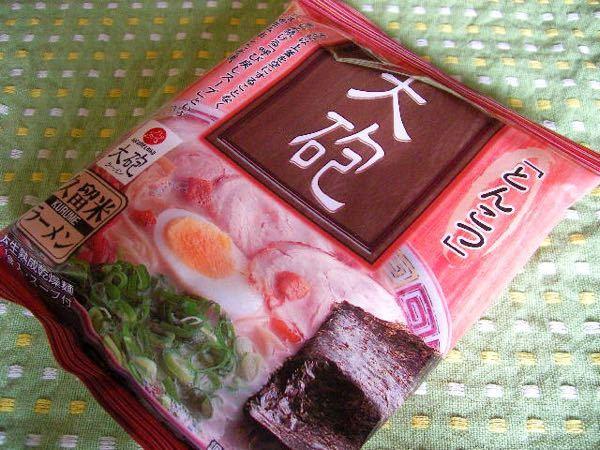 久留米の大砲ラーメンの袋麺は、九州だけにしかないでしょうか? 広島の友達に送ろうと思っていて、どうなんだろうと思っています ( ॑꒳ ॑ )