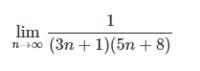 極限の問題を教えていただきたいです。 部分分数分解で解く極限の問題を習ったときに、どのような式でもきれいに消しあってくれるのか気になり、自分でテキトーに作ってみた式なのですが、  ①部分分数分解で先頭にかける式に文字が入る ②部分分数分解で消しあえなそう  という点で、教科書の例題のようには解けませんでした。 こういった問題はどのように解いたら良いのでしょうか?