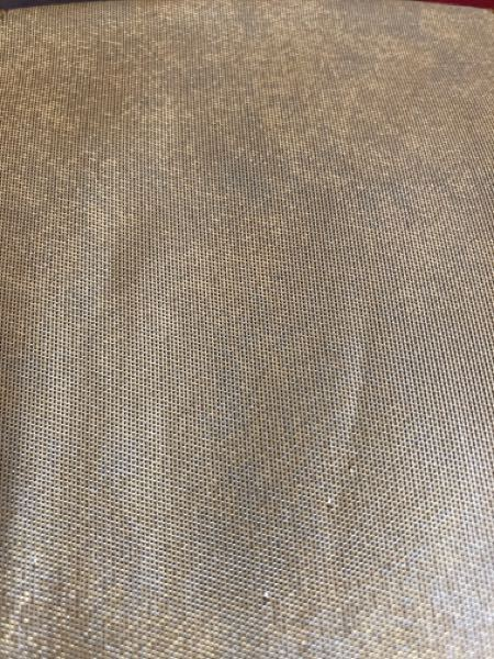 リサイクルショップで帯を買いました。 金箔?金糸の地の所が、見る角度によってむらになっています。 これはシミなんでしょうか?それともこういうものなんでしょうか?