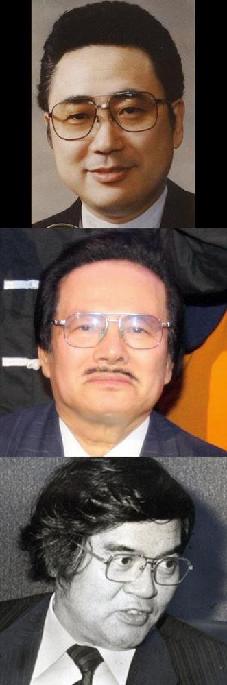 このメガネは、あくどそうな人たちの間で流行ったんですか?