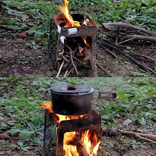 焚き火するのに、 あまり知られていないけど、 あったら便利なグッズや裏ワザ等教えて下さい。 よろしくお願いします。 ちなみに画像のような小さな台でアウトドアクッキングしてます。