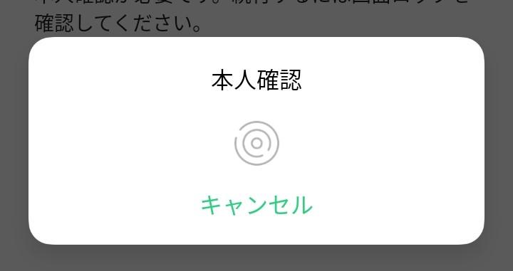 Googleで二段階認証をしようとしたらこんな画面が出てきました。 指紋認証?と思い丸いところに指をおいてみたり色々しても何も動かず、キャンセルを押すと「失敗しました」とのような画面になりこれ以上どうしようもできません。 この添付画像はどういう意味なのでしょうか?