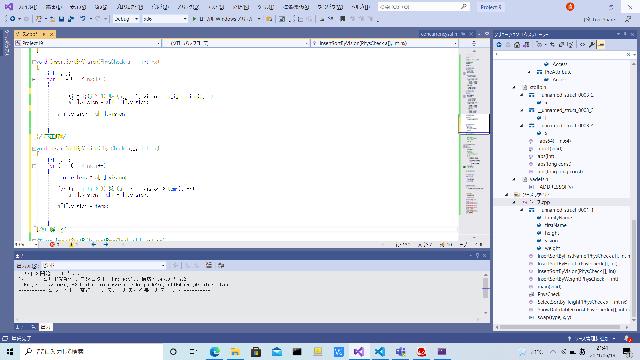 C言語のプログラムなのですが、下のプログラムでは上手く動作するのに、上のプログラムでは動作しません。 分かる方教えていただけると嬉しいです。 解決したらすぐにベストアンサーに選びます!