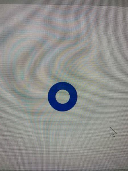 PowerPointの図形のこの円をもっと細くしたいんですけどやり方がわかりません。教えていただけると幸いです。