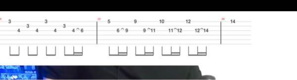 ギターのTAB譜で^みたいな記号ってどういう意味ですか?