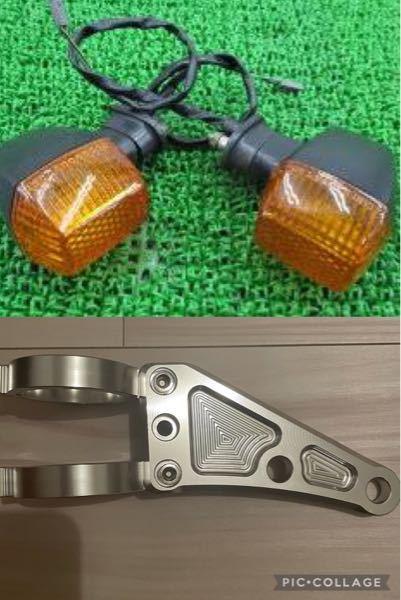 2007年式zrx400の丸目化について質問お願い致します。 zrx400の純正ウインカーをそのまま丸目化に使用する事は可能なのでしょうか? ヘッドライト ステーは汎用のもので取り付け穴は10mmです。 よろしくお願い致します。