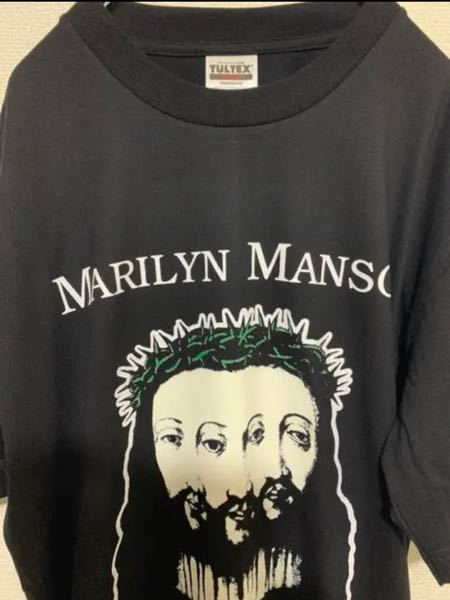このマリリンマンソンのTultexのバンドtシャツは価値ありますか??