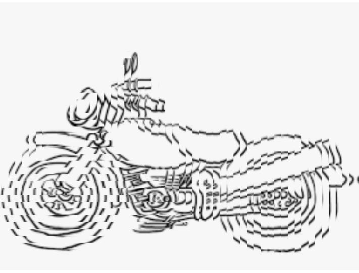 エンジン切ったのに、振動が止まらないバイクです。 ある日の夢のワンシーン。実際こんなことって起こりませんよね?