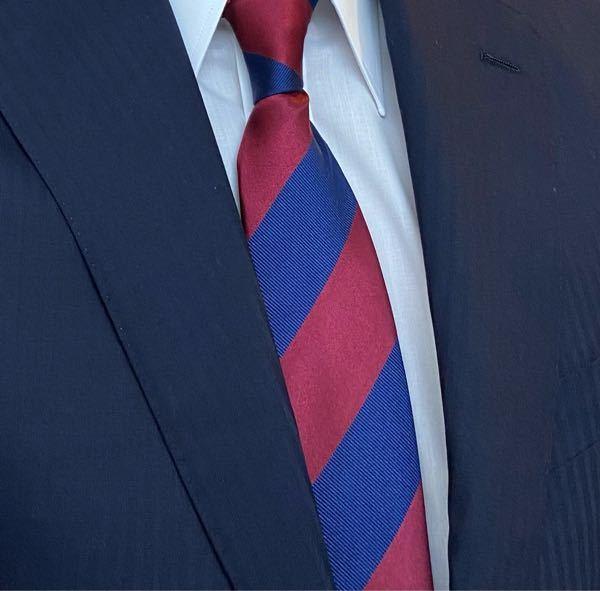 転職の面接で写真の様なネクタイは、派手ですか?