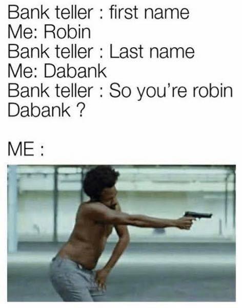 これの意味教えてください どうしてもRobin Dabankのネタの意味がわかりません...