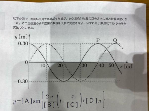 物理基礎の問題です。分かる方いたら教えてください。