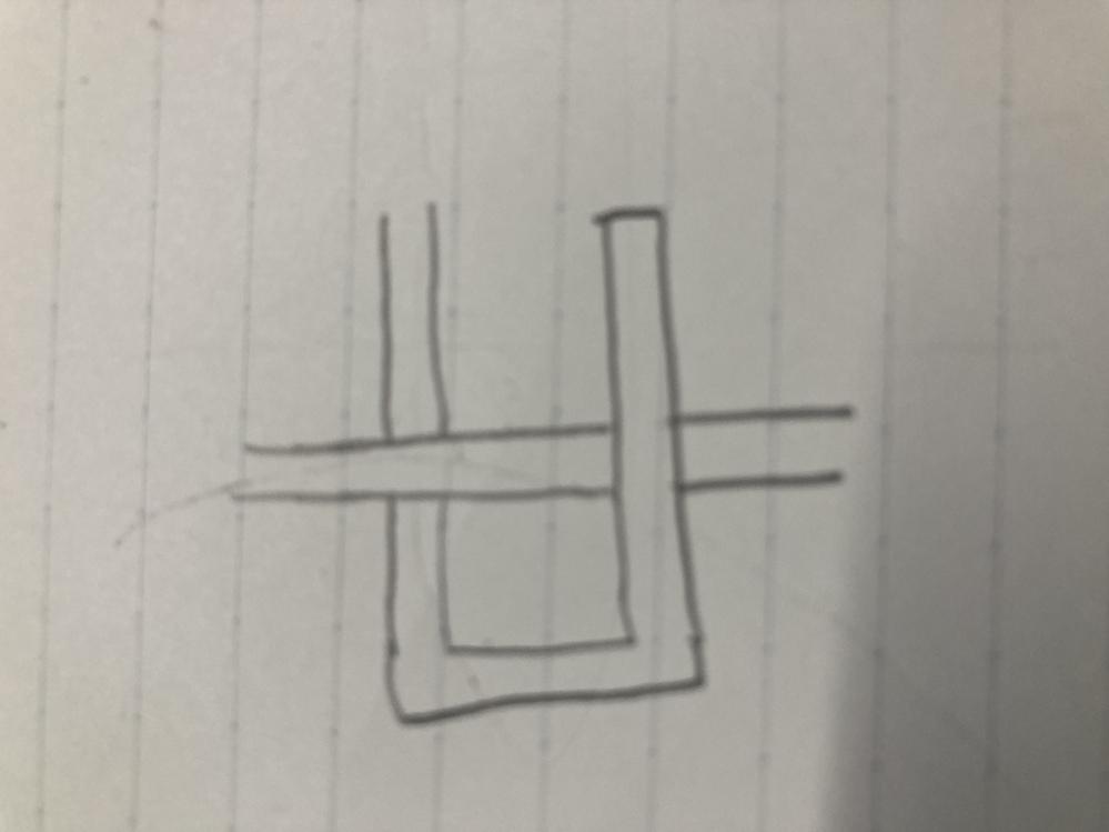 パワーポイントでコイルの中に磁場が通るような図をかきたいのですが、 写真のように1つの図を背面にしたり前に持ってきたりって出来ませんかね?