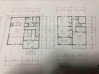 間取り相談 ハウスメーカーから提案された図面です。 1階のトイレ迄行く廊下のスペースが勿体無い気がします。 延坪変えずにこの部分を有効に使える間取りを考えたいのですがご教授いただけますでしょうか?