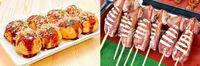 たこ焼きといかの丸焼きとなら 貴方はどちらの料理が好きですか?
