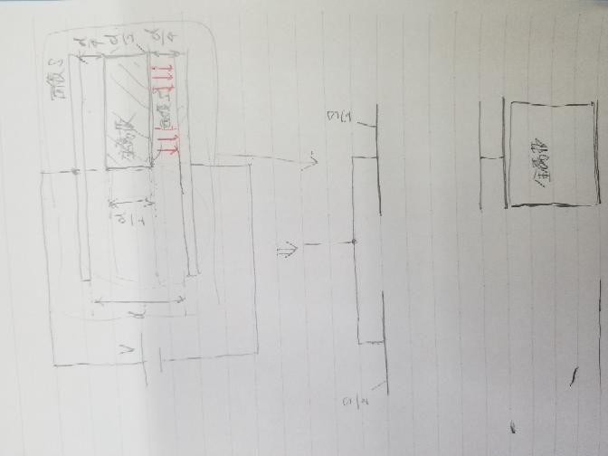 物理コンデンサーについて コンデンサー内に金属板を入れる問題 コンデンサー内で赤の矢印のように金属板の、位置を変えても大丈夫でしょうか?