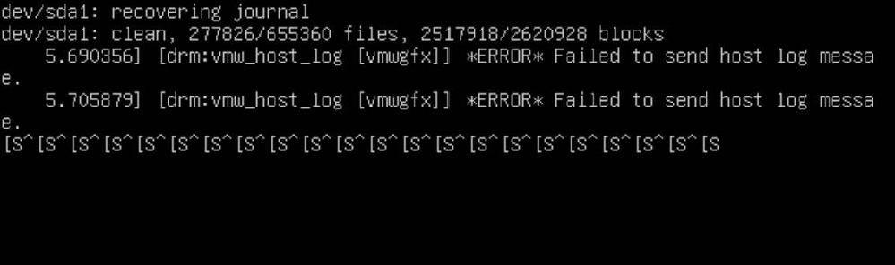 ubuntuがいきなり起動できなくなりました… 写真のようなメッセージが出ています。 起動するにはどのようにすれば良いでしょうか。