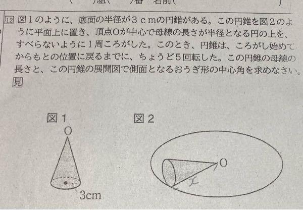 中1数学わかりません 答えと、解説をしてください