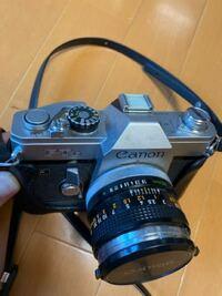 古い一眼レフに詳しい方、ご教示下さい。 50年以上前のカメラだと思います。 価値があるものでしょうか?  キャノン FTb 284796と刻印があります。  宜しくお願い致します。